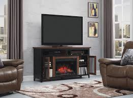 landis infrared electric fireplace tv stand old world