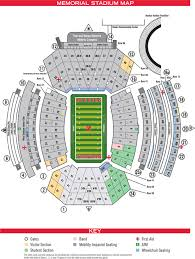 Illinois Seating Chart Football Online Ticket Office Seating Charts Nebraska Cornhuskers
