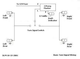 electronic flasher wiring diagram wiring diagram and schematic how to add turn signals and wire them up