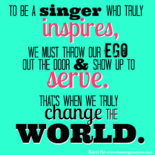 Check out our choir director quote selection for the very best in unique or custom, handmade pieces from our shops. Show Up To Serve And Sing Singing Quotes Singer Quote Choir Quotes