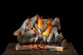 fireplace birch logs about gas fireplaces fireplace inserts rustic feel and best decorative logs cabin design