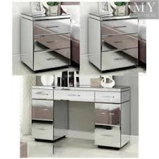 mirrored bedside furniture. Image Is Loading RIO-Mirrored-Bedside-tables-amp-7-Drawer-Dressing- Mirrored Bedside Furniture L