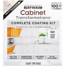Rustoleum Cabinet Transformations Light Kit Reviews Rust Oleum Transformations Light Color Cabinet Kit