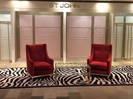 bespoke zebra print rug custom made for st john s selfridges london