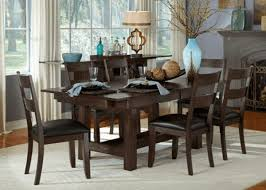 aam40t warm grey 7 piece set with ladderback side chairs kitchen furniture dining room furniture at the guaranteed lowest