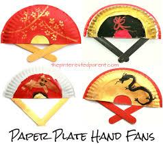 Paper Plate Hand Fans Holidays Pinterest