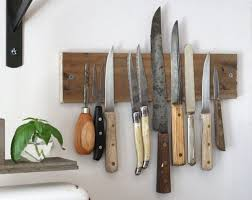 rustic magnet knofe holder here is the knife