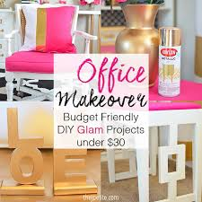 diy office projects. Plain Diy J Petite Office Makeover  Budget Friendly DIY Glam Projects Under 30 And Diy L