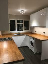 kronotex harbour oak dark flooring ikea ringhult gloss white doors wood costco home depot global interior