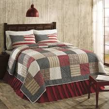 cotton quilts queen size. Fine Quilts Victory Americana Queen Size 3 Pc Quilt Set All Cotton QuiltShams  Patchwork VHC Throughout Quilts