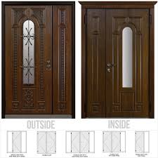 front doors with glass panes inviting what are the standard dimensions for a double door
