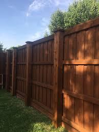 wood fence backyard. Our Wood Fence Options Backyard T