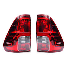 Tailgate Light Bulb Car Rear Left Right Tail Light Brake Lamp Assembly Without Bulb For Toyota Hilux Revo 2015 2018