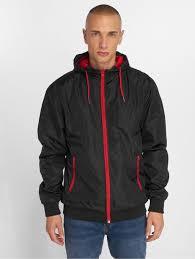 <b>Urban Classics</b> мужчины Демисезонная <b>куртка</b> Contrast in черный