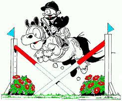 Bildresultat för tecknad hoppande häst med jul