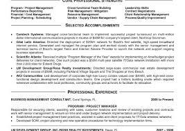 Engineering Program Manager Resume Sample Programme Examples Cv ...