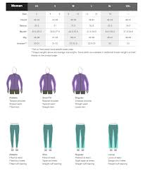 Uk Glove Size Conversion Chart Marmot Size Guide