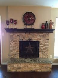 brilliant granite fireplace hearth tiles with stacked stone fireplace surround including texas star fireplace screens under
