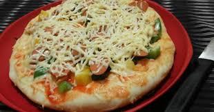 Cara membuat pizza teflon kulit tipis: Resep Pizza Teflon Empuk Spesialresep Com