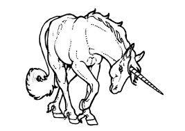 Disegno Da Colorare Unicorno Cat 7135 Az Colorare