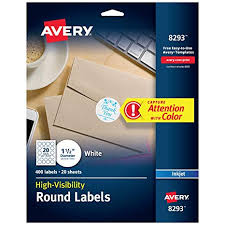 avery sheet labels