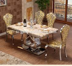 luxury dining room sets marble. fine luxury european classic luxury dining room sets marble table ct006 in luxury dining room sets marble s