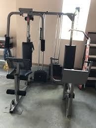 Weider Pro Power Stack Home Gym Weight Equipment Workout For