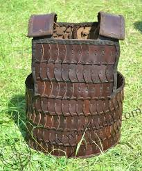 leather lamellar armour