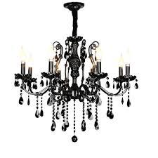 Us 25075 15 Offmoderne Schwarze Kronleuchter Schlafzimmer Klassischen Kristall Kronleuchter Vintage China Beleuchtung Schmiedeeisen Kronleuchter