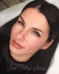 перманентный макияж бровей сразу после процедуры мастер светлана м
