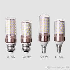 chandelier light new three color light head strong corn led bulb e27 e14 energy for led