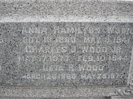 "Emanueleta ""Leta"" Riggs Wood (1850-1913) - Find A Grave Memorial"
