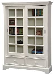 attractive bookshelf with sliding glass doors designing inspiration with bookcase with sliding doors plan
