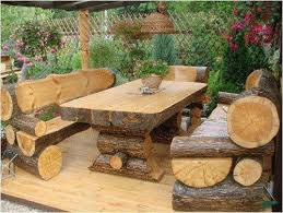rustic garden furniture. Impressive Rustic Outdoor Furniture Ideas 17 Best About On Pinterest Garden E