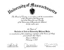 frequently asked questions umass amherst university out walls here s a sample of what your diploma
