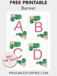 018 Free Printable Banner Template Ideas Wondrous Templates