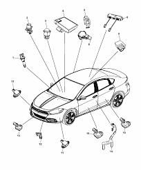 Dodge parts diagram door wiring diagram database dodge avenger 2015 dodge dart sensors body mopar parts