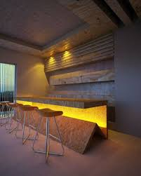 modern bar lighting. rws i believe a strong yellow coloured lighting could add lot to the bar modern l