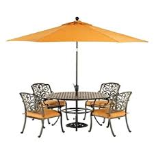 grove hill outdoor patio furniture dining sets pieces outdoor 5 piece dining set round dining table grove hill