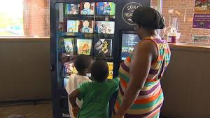 Vending Machine Books New New Vending Machines Bring Books To Kids In DC Neighborhood Video