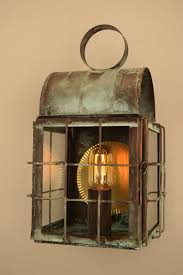 back bay wall sconce copper lighting