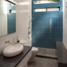 modern bathroom tile colors. Simple Bathroom Blue Tile Accent Wall Modern Bathroom With Polished White Tile Gray  Marble Floor And Vessel Sink And Colors M