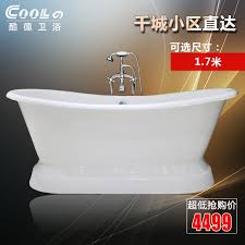 get ations cool german genuine white glazed cast iron bathtub bathtub freestanding bathtub enamel fashion high temperature bath