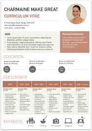 27 Images Of Presentation Visual Resume Template Masorlercom