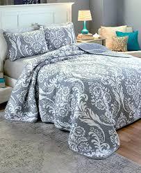 damask bedding sets gray full queen damask bedding