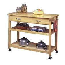 Home Styles Natural Designer Utility Cart Natural Designer Utility Cart Home Styles