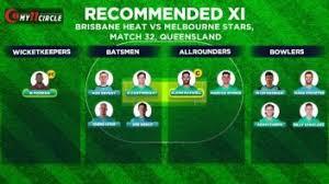 Melbourne vs brisbane tipsfind best bets on the melbourne vs brisbane market from expert tipsters. Brisbane Heat Vs Melbourne Stars Bbl 2020 21 Fantasy Pick Team Predictions