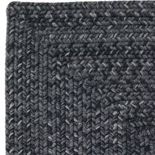 decor ultra durable black solid indoor outdoor area rug rugs soft