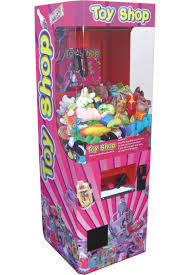 Crane Vending Machines Uk Mesmerizing Toy Shop Vending Crane Machine
