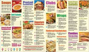 To Go Menu Templates 20 Take Out Menu Templates Free Sample Example Format Download